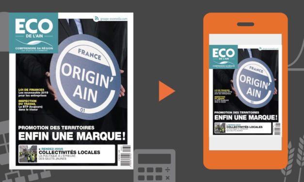 Votre magazine ECO de l'Ain du 7 février 2019