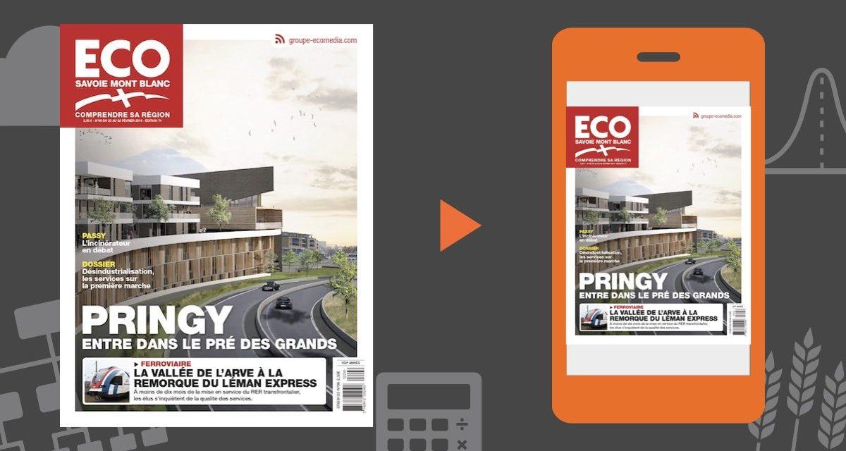 Votre magazine ECO Savoie Mont Blanc du 22 février 2019