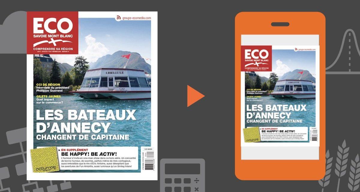 Votre magazine ECO Savoie Mont Blanc du 1er février 2019