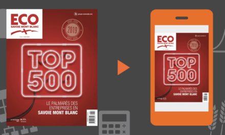 Le TOP 500 2019 des entreprises de Haute-Savoie (74) et de Savoie (73)