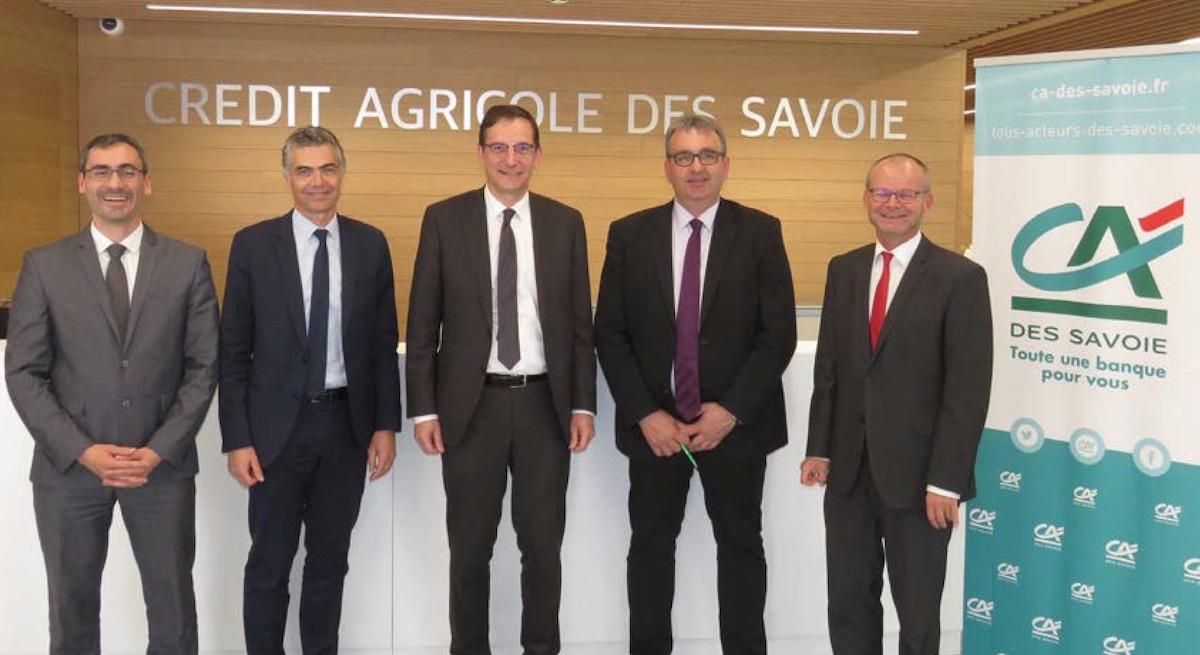 Crédit Agricole des Savoie :  une activité en hausse, avec des  clients plus nombreux et plus jeunes