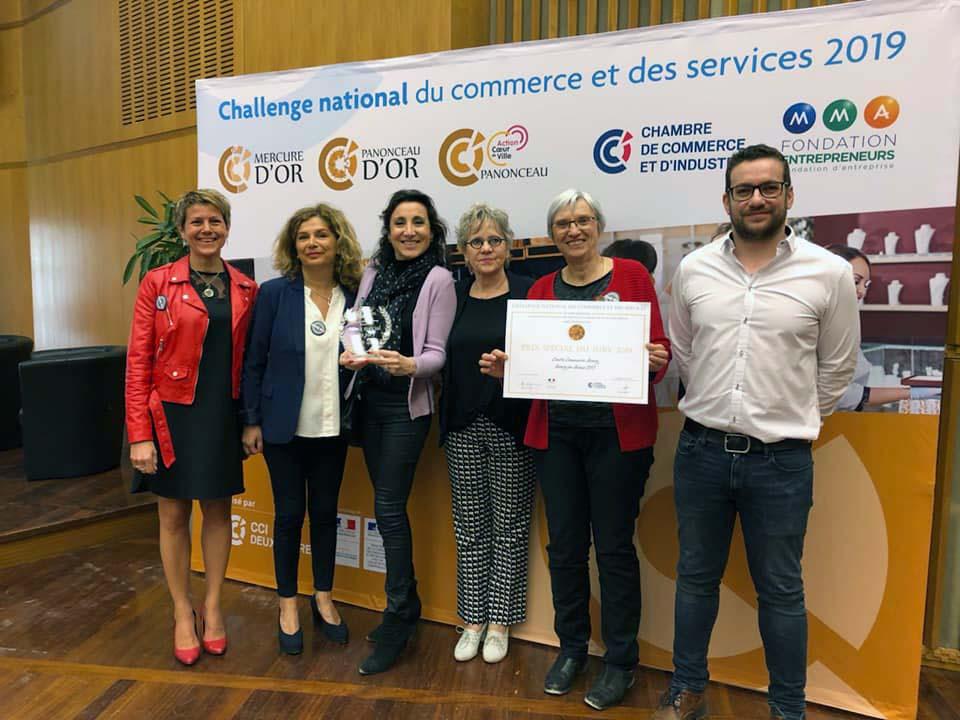 Centre Commerces Bourg, Pannonceau d'Or, Challenge national commerces et services.
