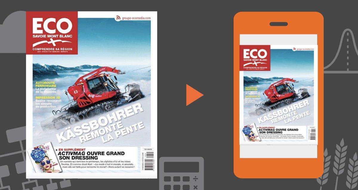 Votre magazine ECO Savoie Mont Blanc du 1er mars 2019