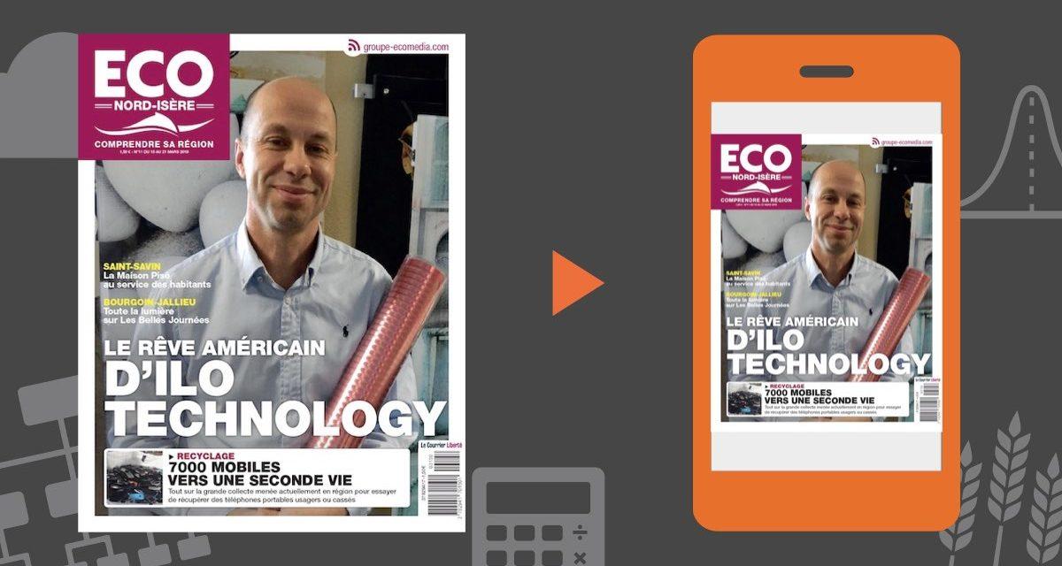 Votre magazine ECO Nord Isère du 15 mars 2019