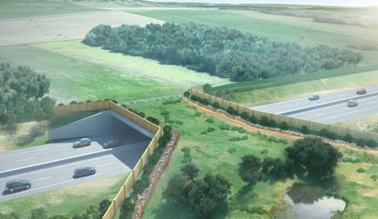 Le chantier de l'écopont est lancé à Viry