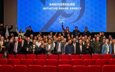 Président, bilan, 20 ans : la riche actualité d'Initiative Grand Annecy