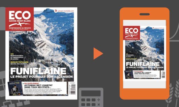 Votre magazine ECO Savoie Mont Blanc du 5 avril 2019