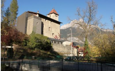 Sallanches lance la rénovation du château des Rubins