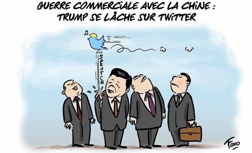 La guerre commerciale entre Chine et Etats Unis vue par Faro