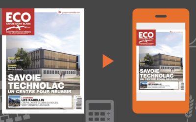 Votre magazine ECO Savoie Mont Blanc du 24 mai 2019