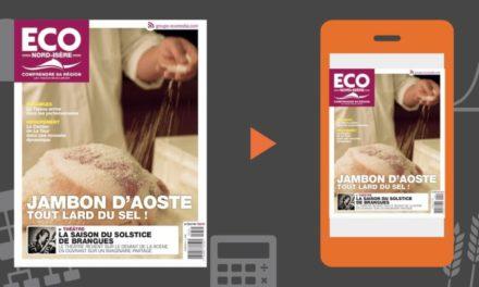 Votre magazine ECO Nord Isère du 31 mai 2019