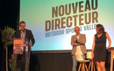 Outdoor Sports Valley : nouveau mandat, nouveau directeur
