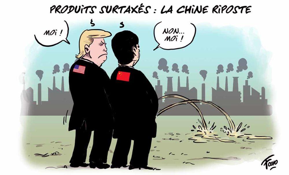 La guerre commerciale Chine-USA vue par Faro