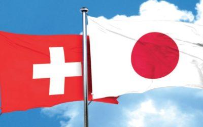 International :  la Suisse et le Japon jouent la carte du rapprochement