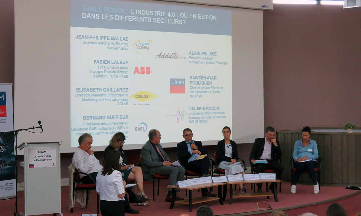 table ronde industrie 4.0