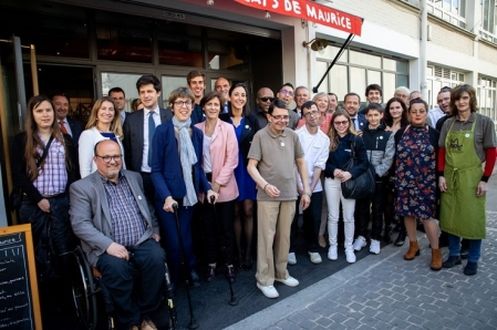 Bâtiment et handicap, Duoday, Julien Denormandie, Alain Chapuis