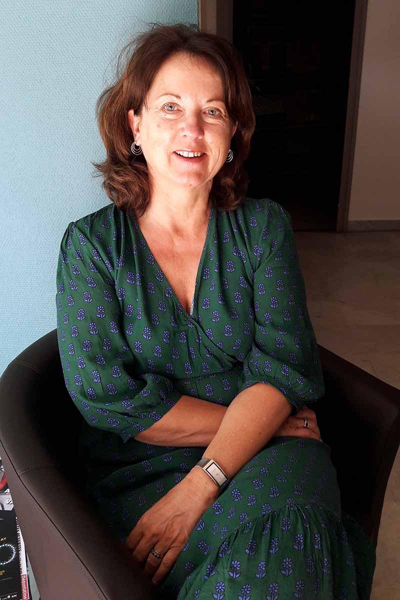 Christine Piotte, directrice du CIDFF 01