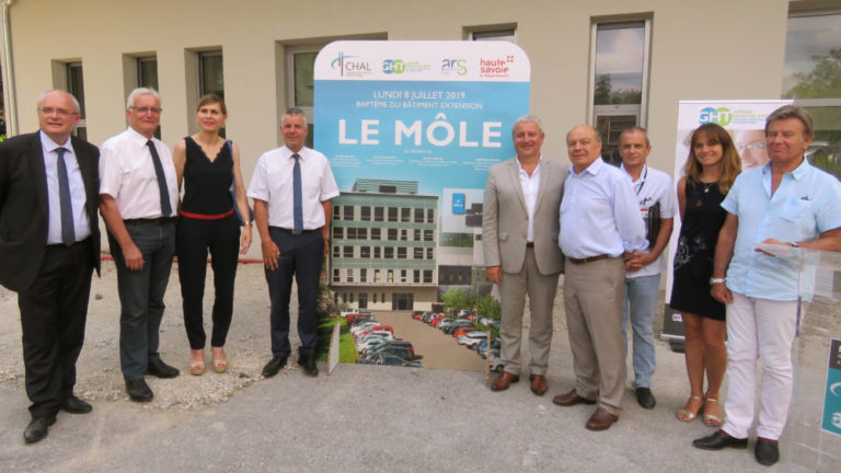 Extension en cours pour le Centre hospitalier Alpes Léman
