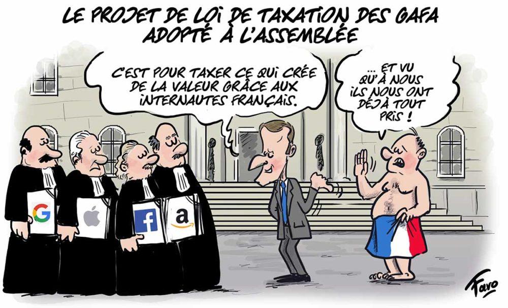 La taxation des Gafa vue par Faro