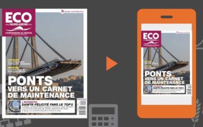 Votre magazine ECO Nord Isère du 12 juillet 2019