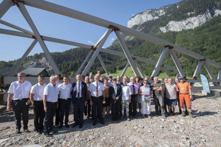 Nouvelle étape pour la véloroute Léman-Mont Blanc