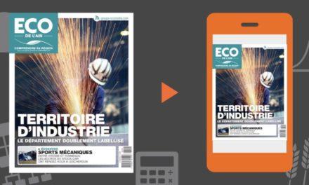 Votre magazine ECO de l'Ain du 29 août 2019