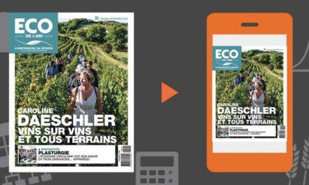 Votre magazine ECO de l'Ain du 22 août 2019