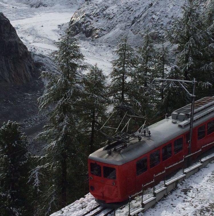 Chamonix : Le train du Montenvers, toujours à l'arrêt après avoir déraillé