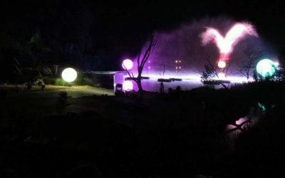 Vidéo : un aperçu des animations et du spectacle des nocturnes du Parc des oiseaux