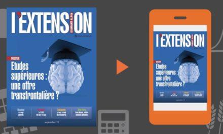 Votre magazine L'EXTENSION Septembre 2019