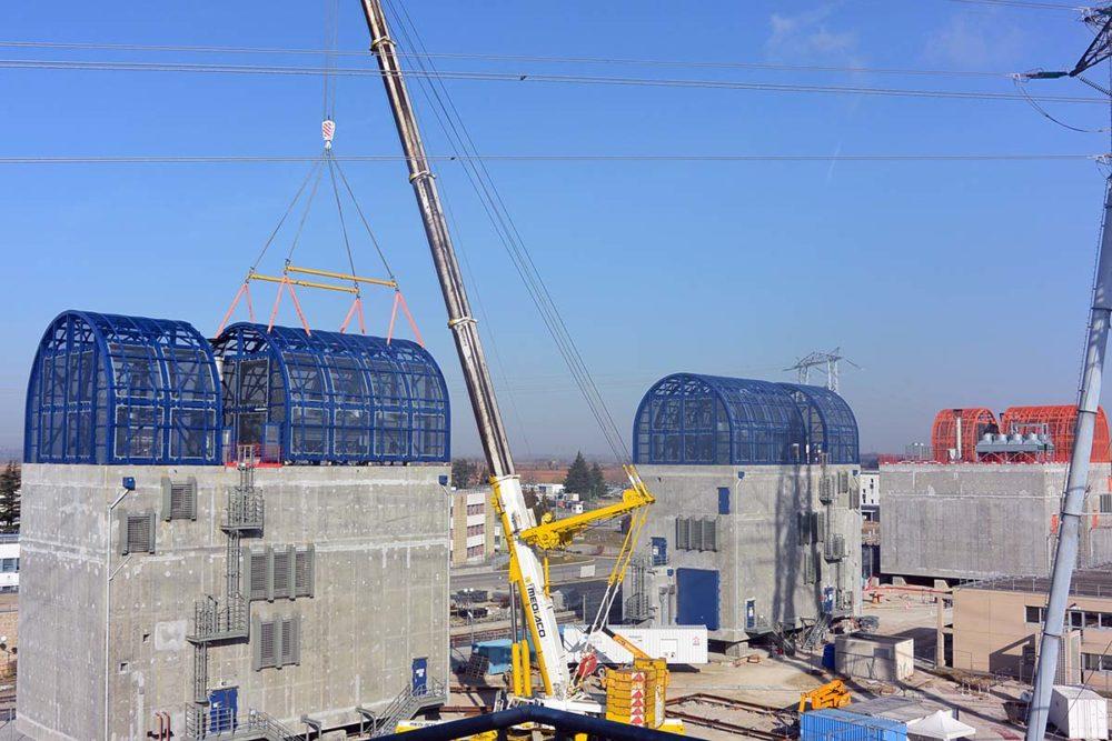 Travaux Grand carénage, Centrale nucléaire du Bugey ©EDF