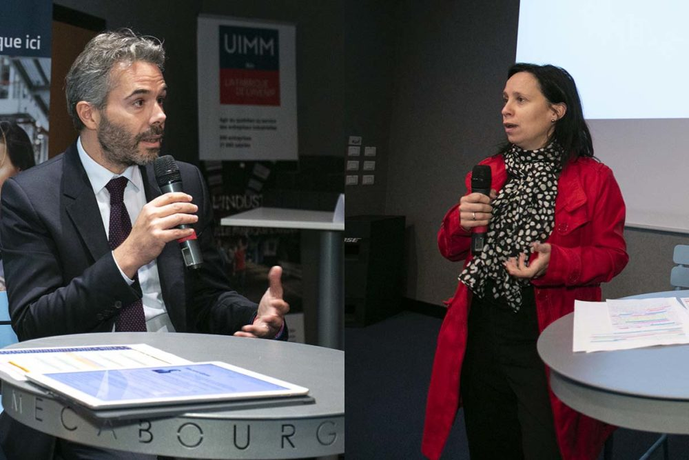 Conférence UIMM, Vincent Garel, Shirley Roul