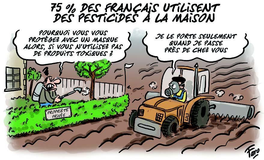 Les Français et les pesticides, vus par Faro