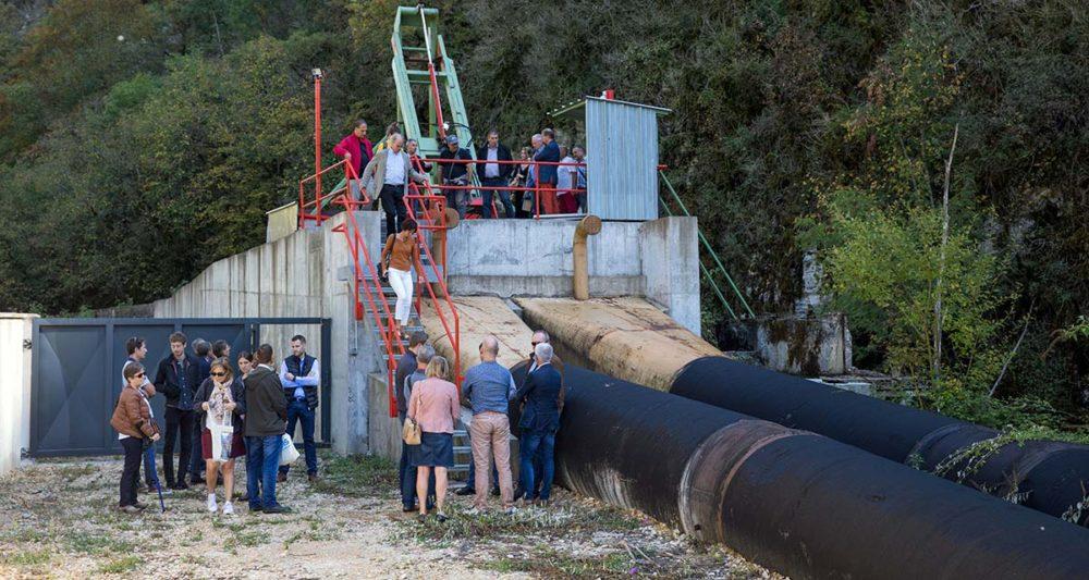 Roul'Elec Tour Centrale hydroélectrique de la Scie