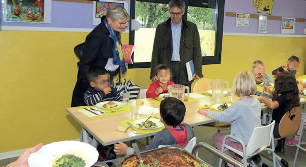 La restauration scolaire passe au vert à Bourgoin-Jallieu