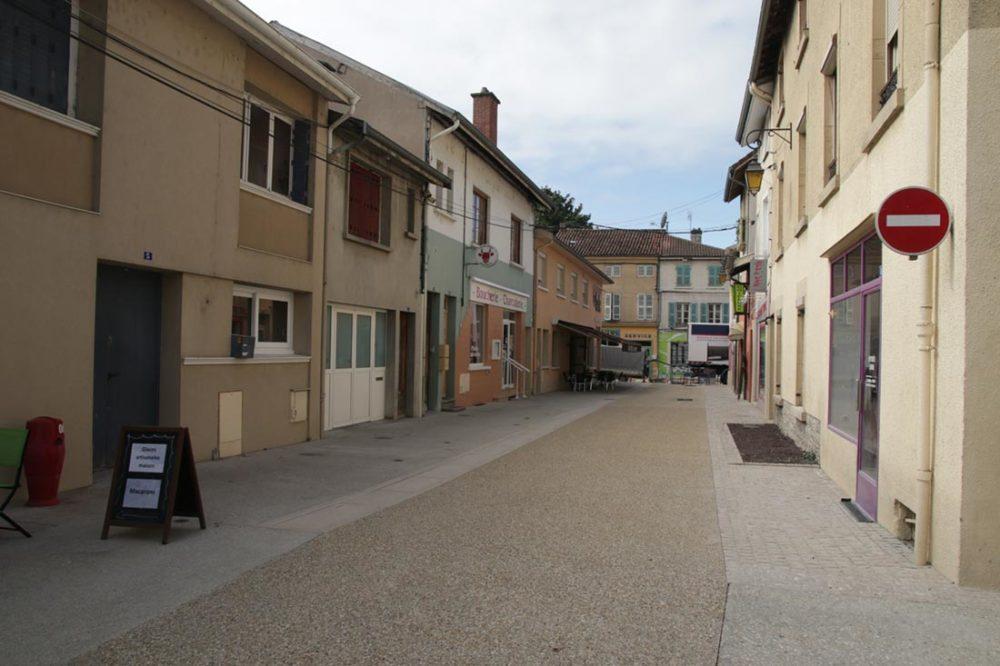 Centre-ville de Montrevel : un aménagement conduit par InTerra