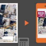 Votre magazine ECO Nord Isère du 8 novembre 2019