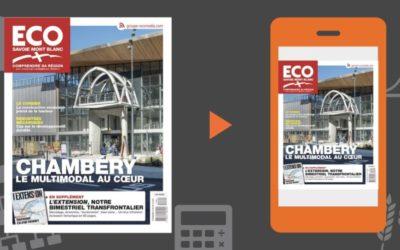 Votre magazine ECO Savoie Mont Blanc du 8 novembre 2019