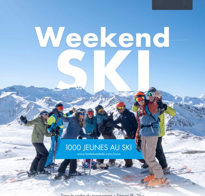 1 000 jeunes au ski !