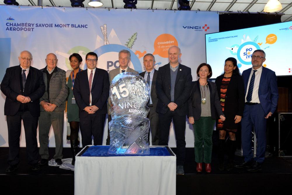 Aéroport de Chambéry : 15 ans de concession pour Vinci Airports