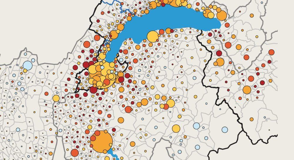 Infographie / Démographie : le Léman dans tous ses états