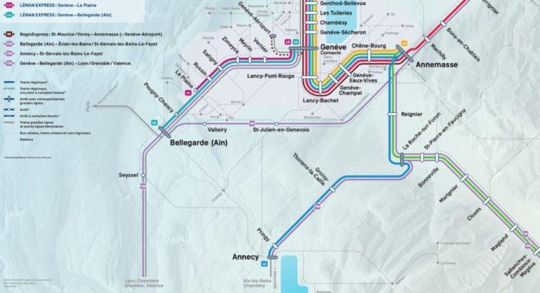 Le Léman Express, le train d'union franco-suisse sera mis en service le 15 décembre 2019