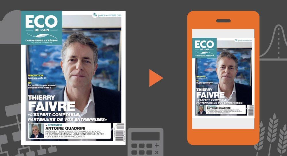Votre magazine ECO de l'Ain du16 janvier 2020