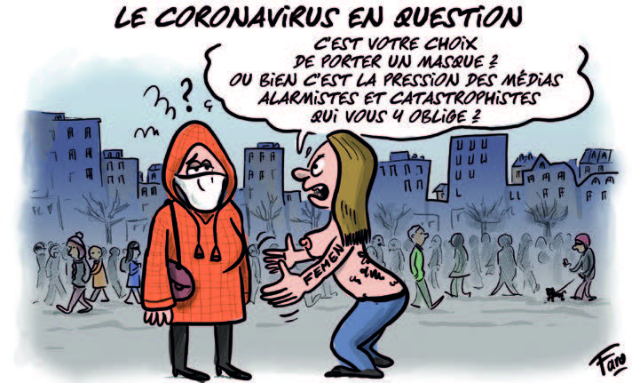 Le Coronavirus vu par Faro