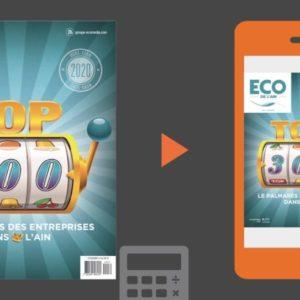 Le TOP 300 2020 des entreprises de l'Ain (01)