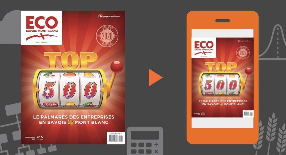 Le TOP 500 2020 des entreprises de Haute-Savoie (74) et de Savoie (73)