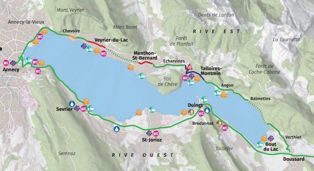 Voie verte- Véloroute Annecy-Albertville-Chambéry Voie-verte-velo-annecy-plan-carte-2020-1