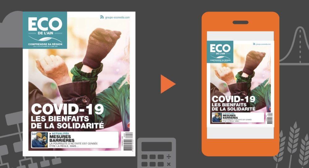 Votre magazine ECO de l'Ain du 26 mars 2020