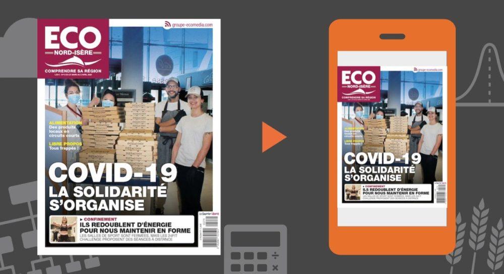 Votre magazine ECO Nord Isère du 27 mars 2020
