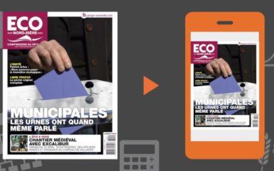 Votre magazine ECO Nord Isère du 20 mars 2020